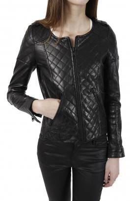 2ee223ef121 Veste en cuir chanel femme – Les vestes à la mode sont populaires ...